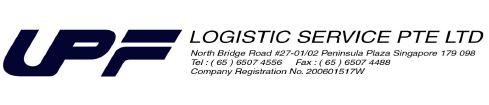 UPF LOGISTIC SERVICES PTE LTD